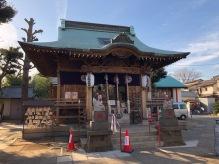 The Hisatomi-jinja shrine