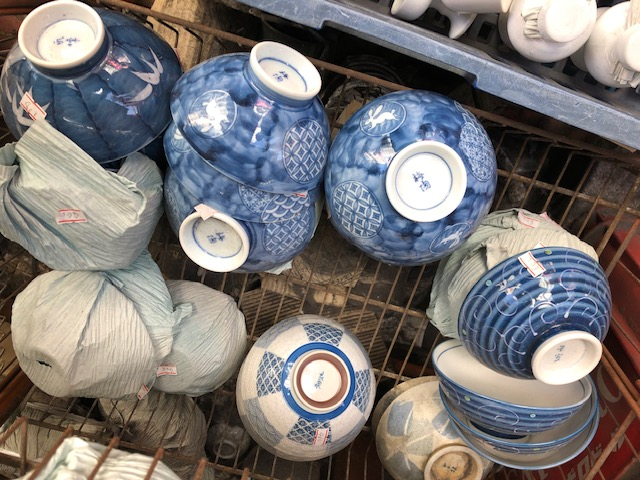An interesting selection of rice bowls