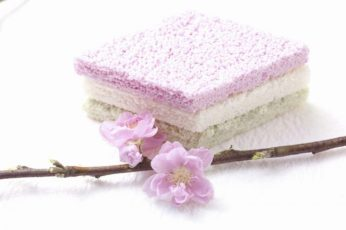 Peach blossom and hishimochi