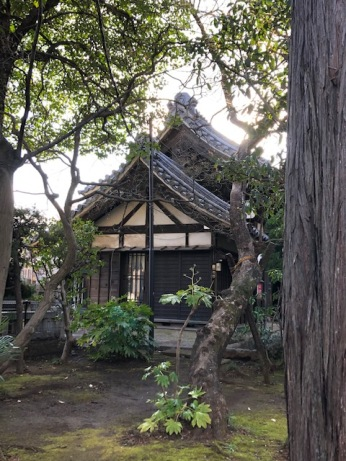 A smaller temple on the grounds