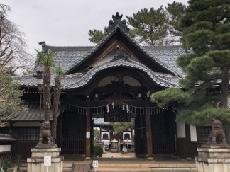 The main entrance to Setagaya Kannon -ji
