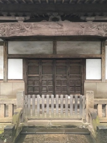 Temple buildings were somewhat fade and worn - very wabi sabi
