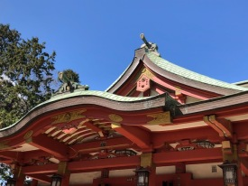 Traditional Japanese rooflines