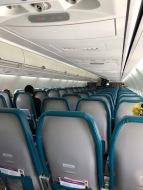 Empty flight over to Kaua'i was surreal, as inter-island flights are typically packed to the max.