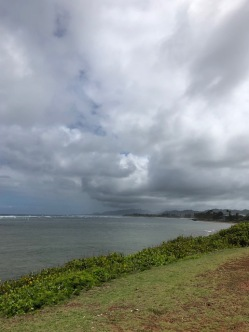 Looking to Lihue in the south