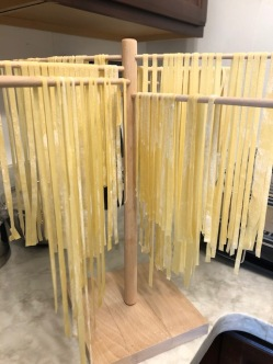 Lots of beautiful fettuccine . . .