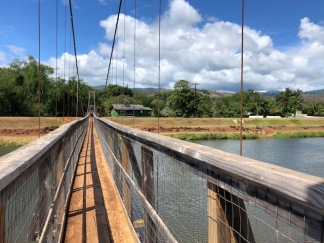 The Hanapepe Swinging Bridge