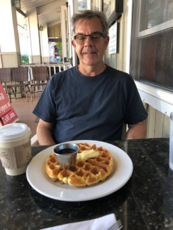 Brett dreams of starting his waffle