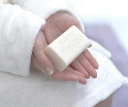 Australian goats' milk soap - pure luxury