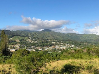 Kalaheo from the road to the club house